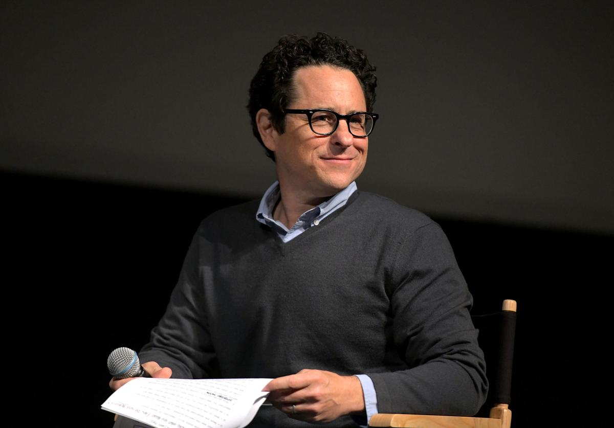 "J.J. Abrams speaks onstage at Netflix's ""When They See Us"" Screening & Reception at Paramount Theater on the Paramount Studios lot on August 11, 2019 in Hollywood, California."