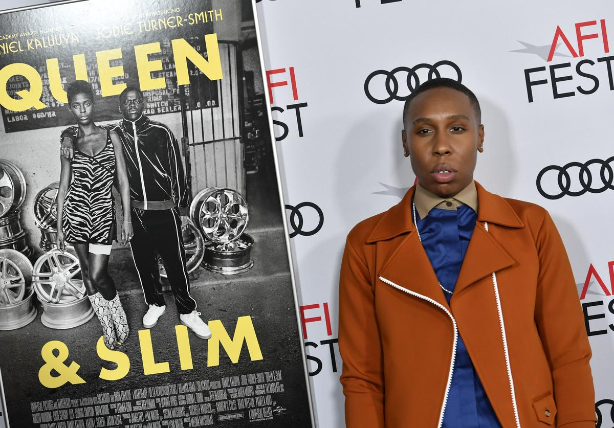 "Lena Waithe attends AFI FEST 2019 Presented By Audi – ""Queen & Slim"" Premiere at TCL Chinese Theatre on November 14, 2019 in Hollywood, California."