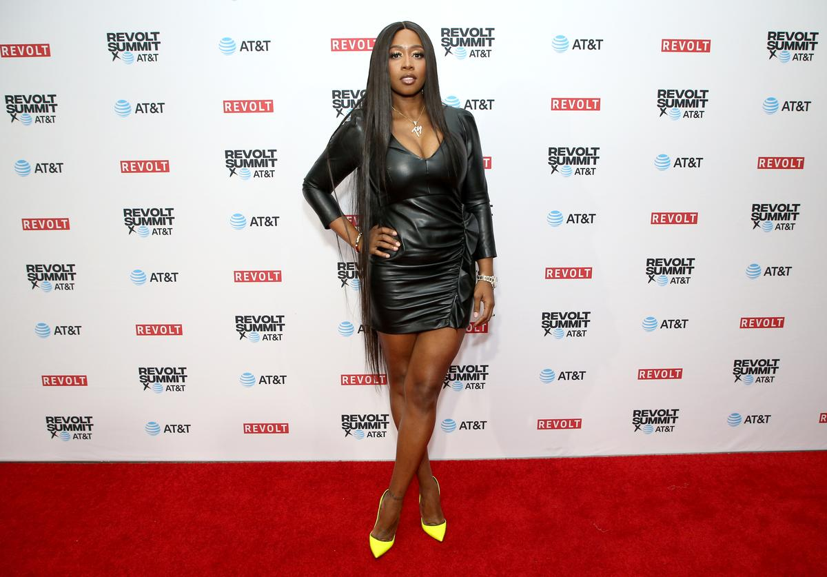 Remy Ma attends the REVOLT X AT&T Host REVOLT Summit In Los Angeles at Magic Box on October 27, 2019 in Los Angeles, California.