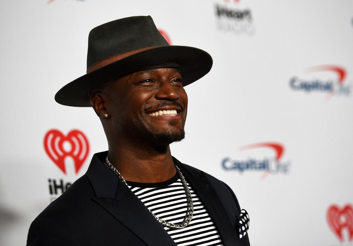 Taye Diggs at the iHeartRadio music festival