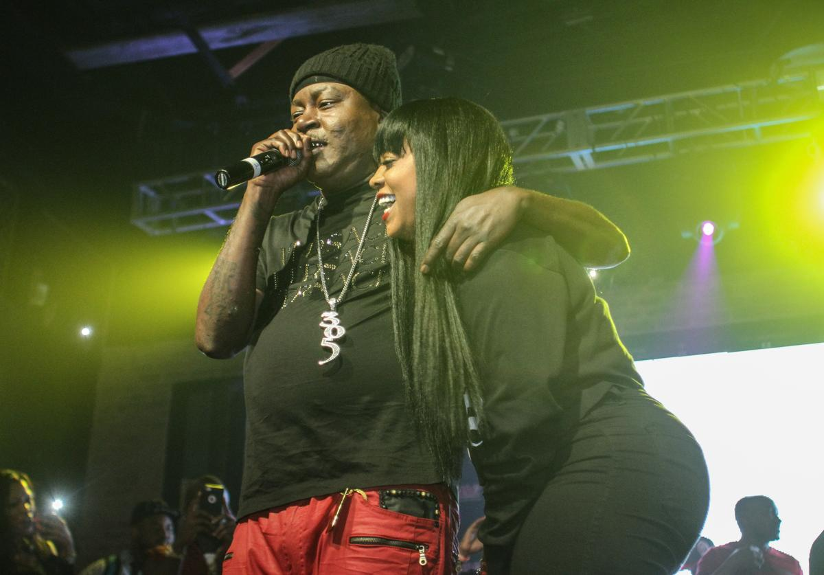 Trick Daddy & Trina performing in Florida