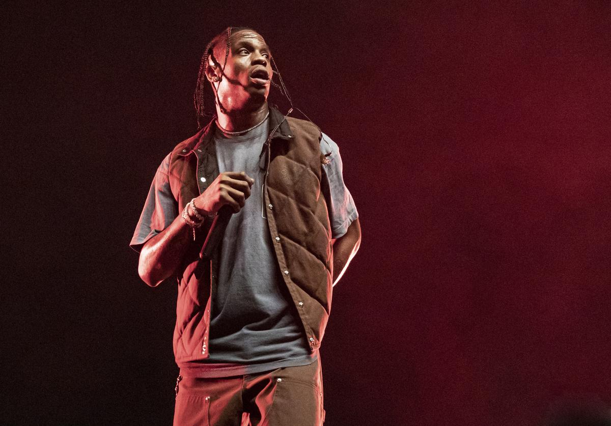 Travis Scott performs on day 2 of Music Midtown at Piedmont Park on September 15, 2019 in Atlanta, Georgia