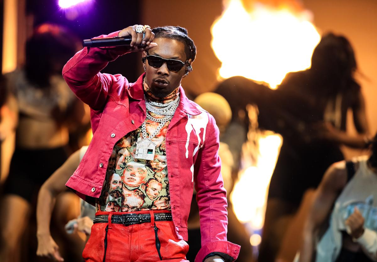 Offset performs onstage at the BET Hip Hop Awards 2019 at Cobb Energy Center on October 5, 2019 in Atlanta, Georgia