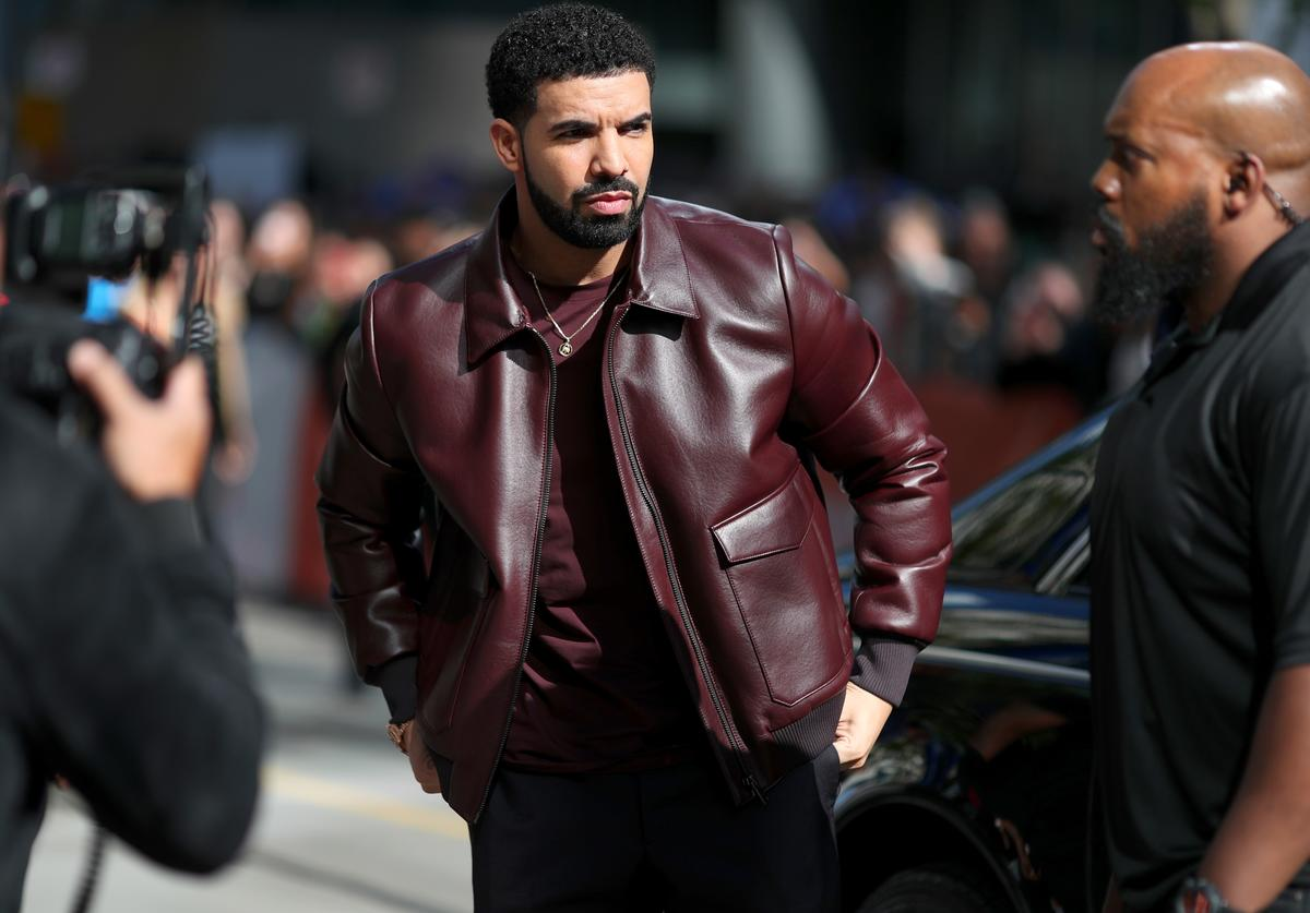 """Drake attends """"The Carter Effect"""" premiere during the 2017 Toronto International Film Festival at Princess of Wales Theatre on September 9, 2017 in Toronto, Canada"""