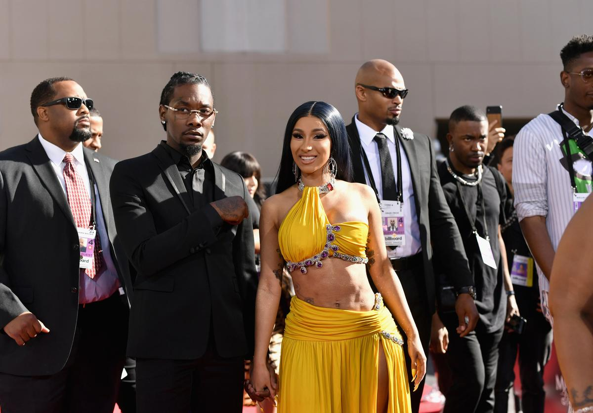 Cardi B & Offset at the 2019 Billboard Music Awards