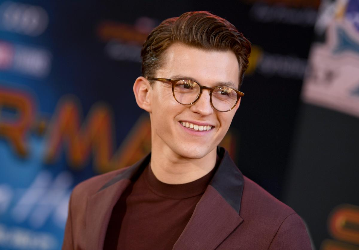 """Tom Holland at """"Spider-Man: Far From Home"""" premiere"""