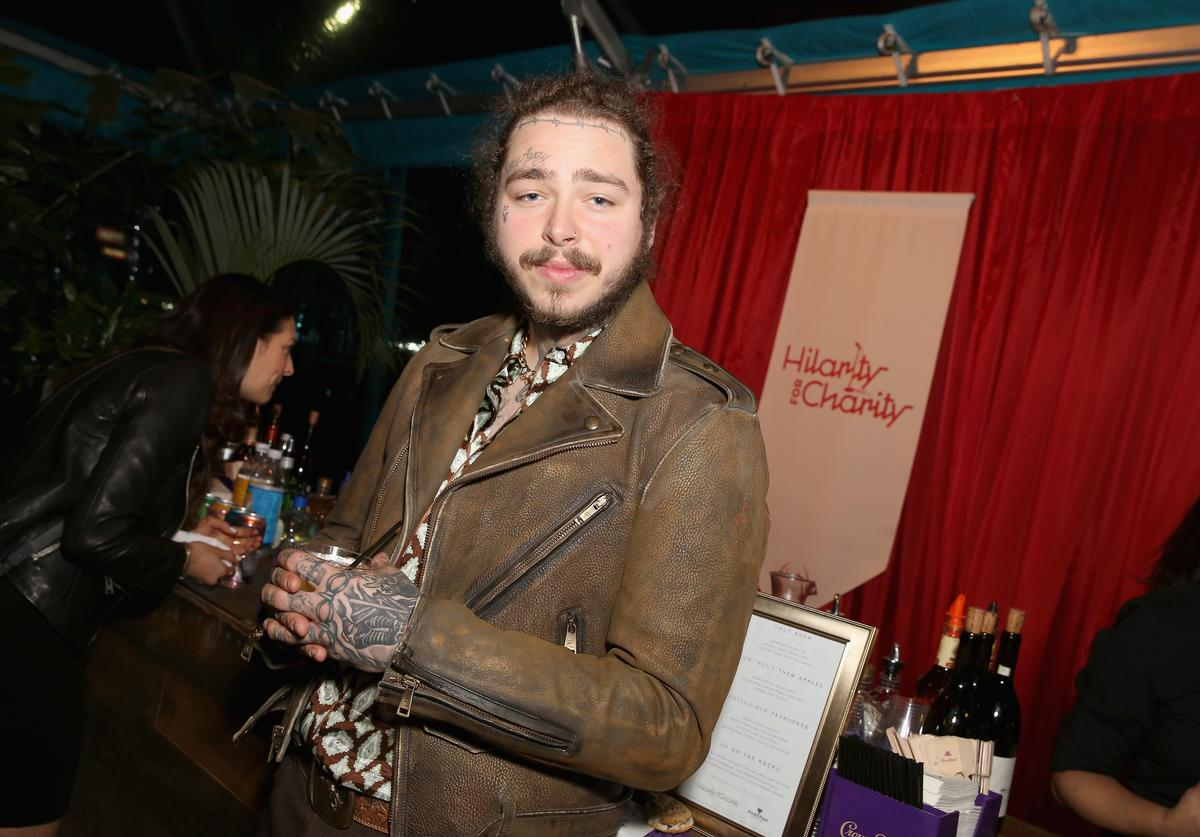 Post Malone at Hilarity for Charity