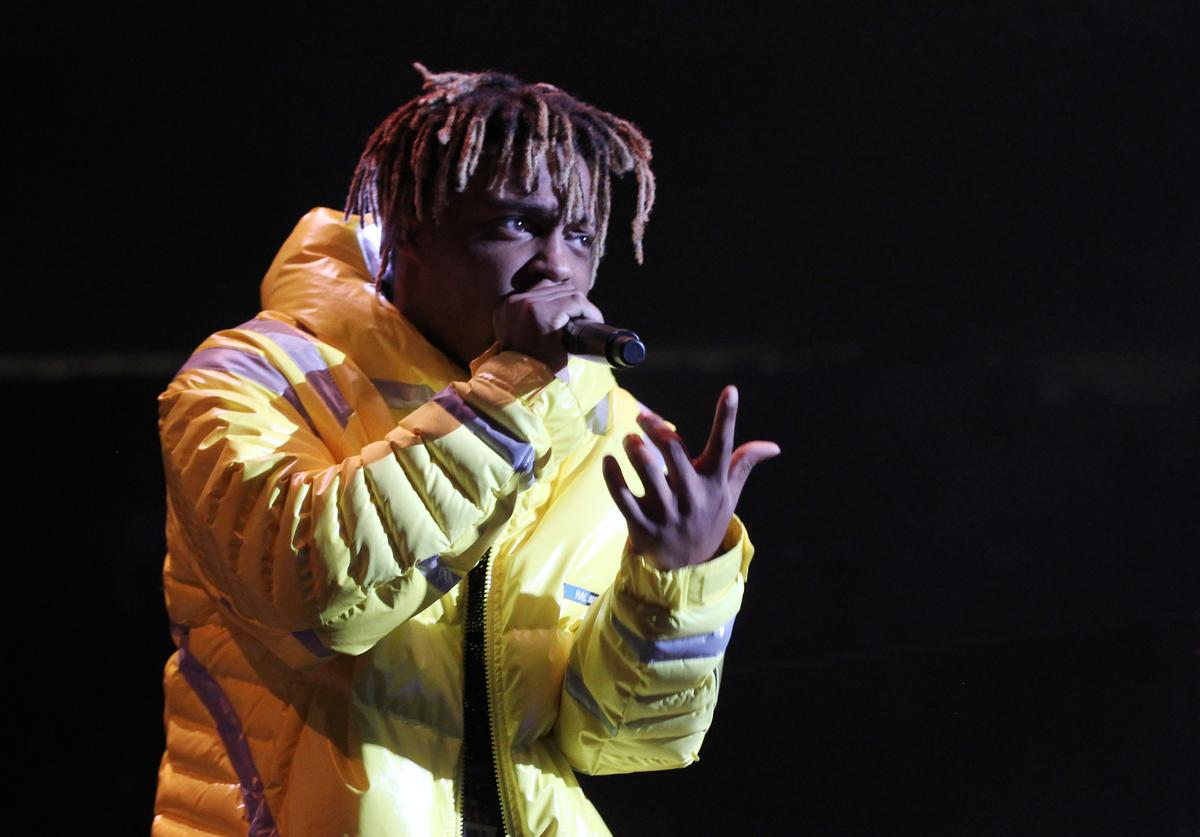Rapper Juice Wrld performs at Power 105.1's Powerhouse 2018 at Prudential Center on October 28, 2018 in Newark, New Jersey.