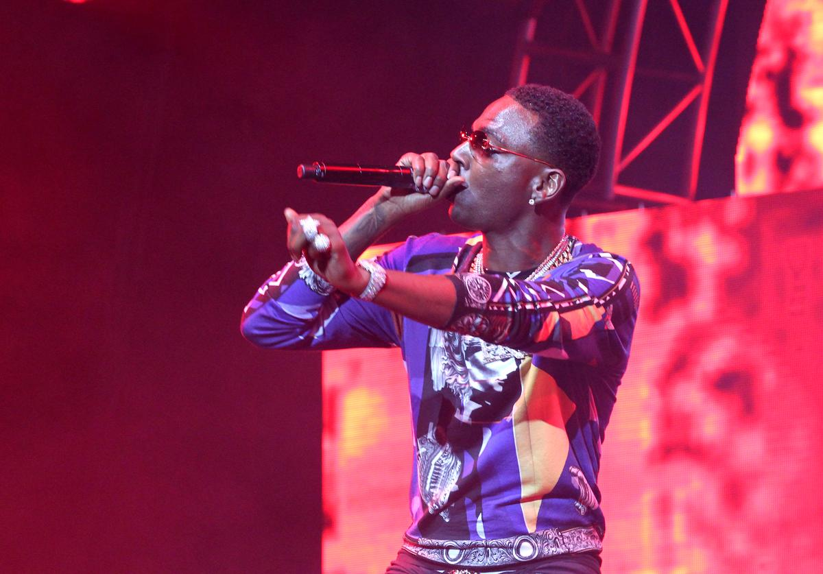 Young Dolph performs onstage at night three of the STAPLES Center Concert, sponsored by Sprite, during the 2017 BET Experience at Staples Center on June 24, 2017 in Los Angeles, California