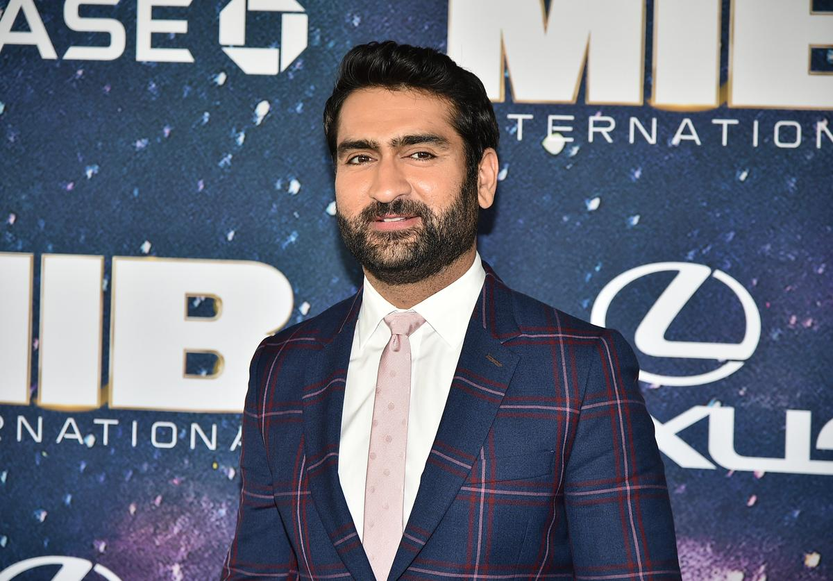 "Kumail Nanjiani attends ""Men In Black International"" World Premiere at AMC Loews Lincoln Square 13 on June 11, 2019 in New York City"
