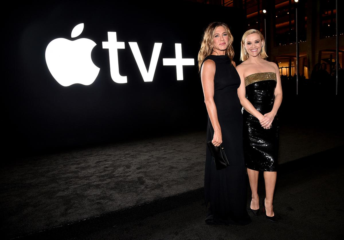 "Jennifer Aniston & Reese Witherspoon At Apple TV+'s ""The Morning Show"" World Premiere"