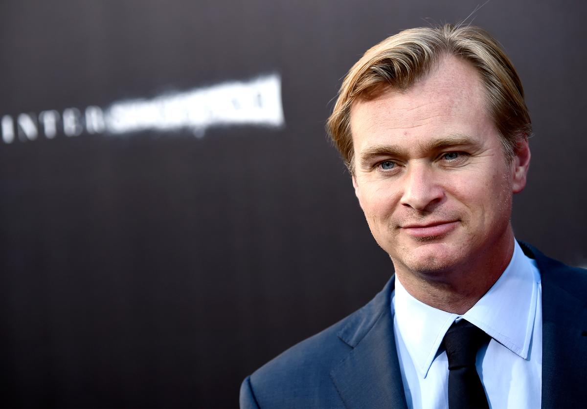 "Christopher Nolan attends the premiere of Paramount Pictures' ""Interstellar"" at TCL Chinese Theatre IMAX on October 26, 2014 in Hollywood, California"