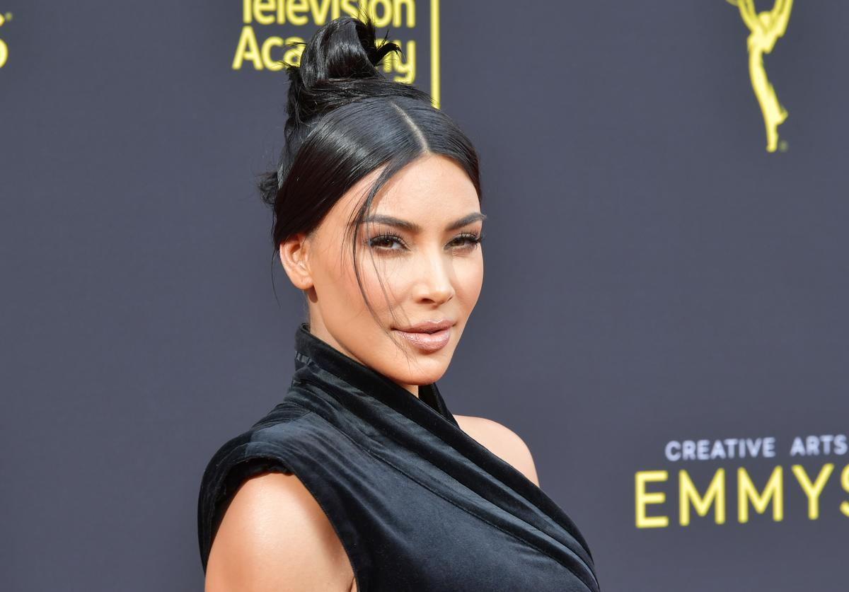 Kim Kardashian West attends the 2019 Creative Arts Emmy Awards on September 14, 2019 in Los Angeles, California