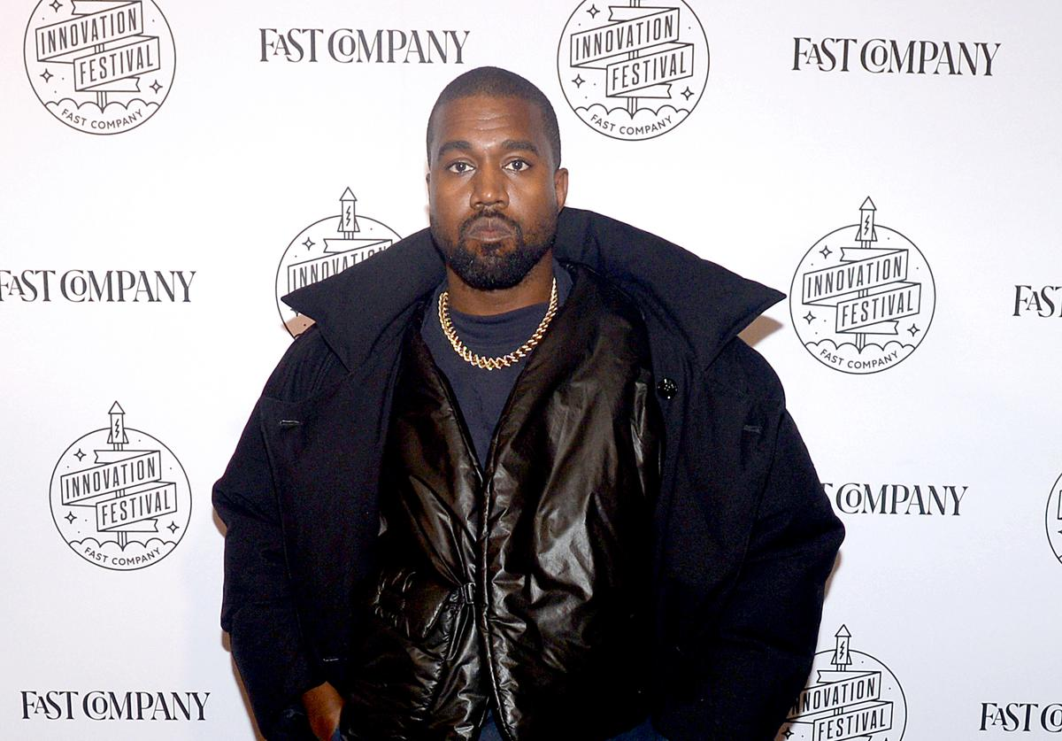 Kanye West attends the Fast Company Innovation Festival