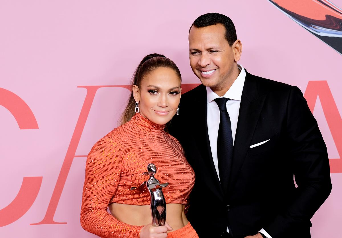Jennifer Lopez & Alex Rodriguez at the CFDA Fashion Awards
