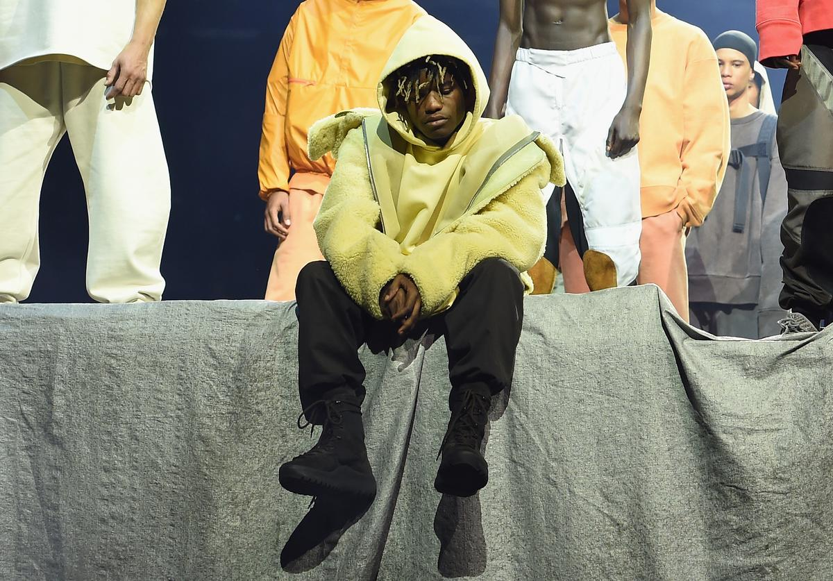 Ian Connor poses during Kanye West Yeezy Season 3 on February 11, 2016 in New York City