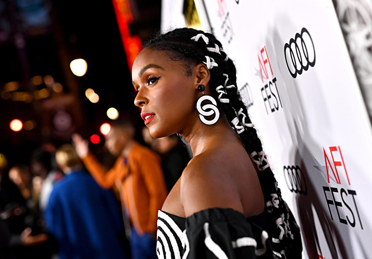 """Janelle Monae attends the """"Queen & Slim"""" Premiere at AFI FEST 2019 presented by Audi at the TCL Chinese Theatre on November 14, 2019 in Hollywood, California"""