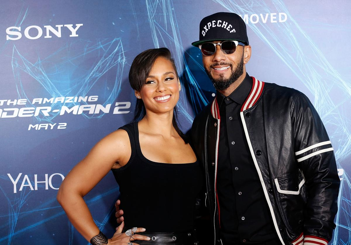 Alicia Keys. Swizz Beatz