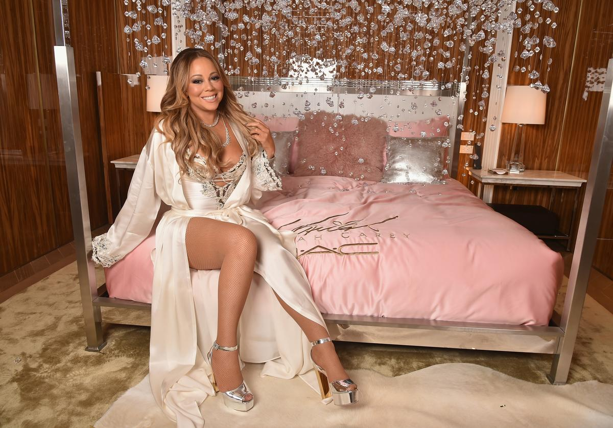 Mariah Carey attends the M.A.C Cosmetics Mariah Carey Beauty Icon Launch at Baccarat Hotel on December 3, 2016 in New York City.