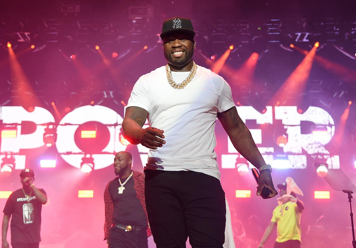"Curtis ""50 Cent"" Jackson performs onstage at STARZ Madison Square Garden ""Power"" Season 6 Red Carpet Premiere, Concert, and Party on August 20, 2019 in New York City"