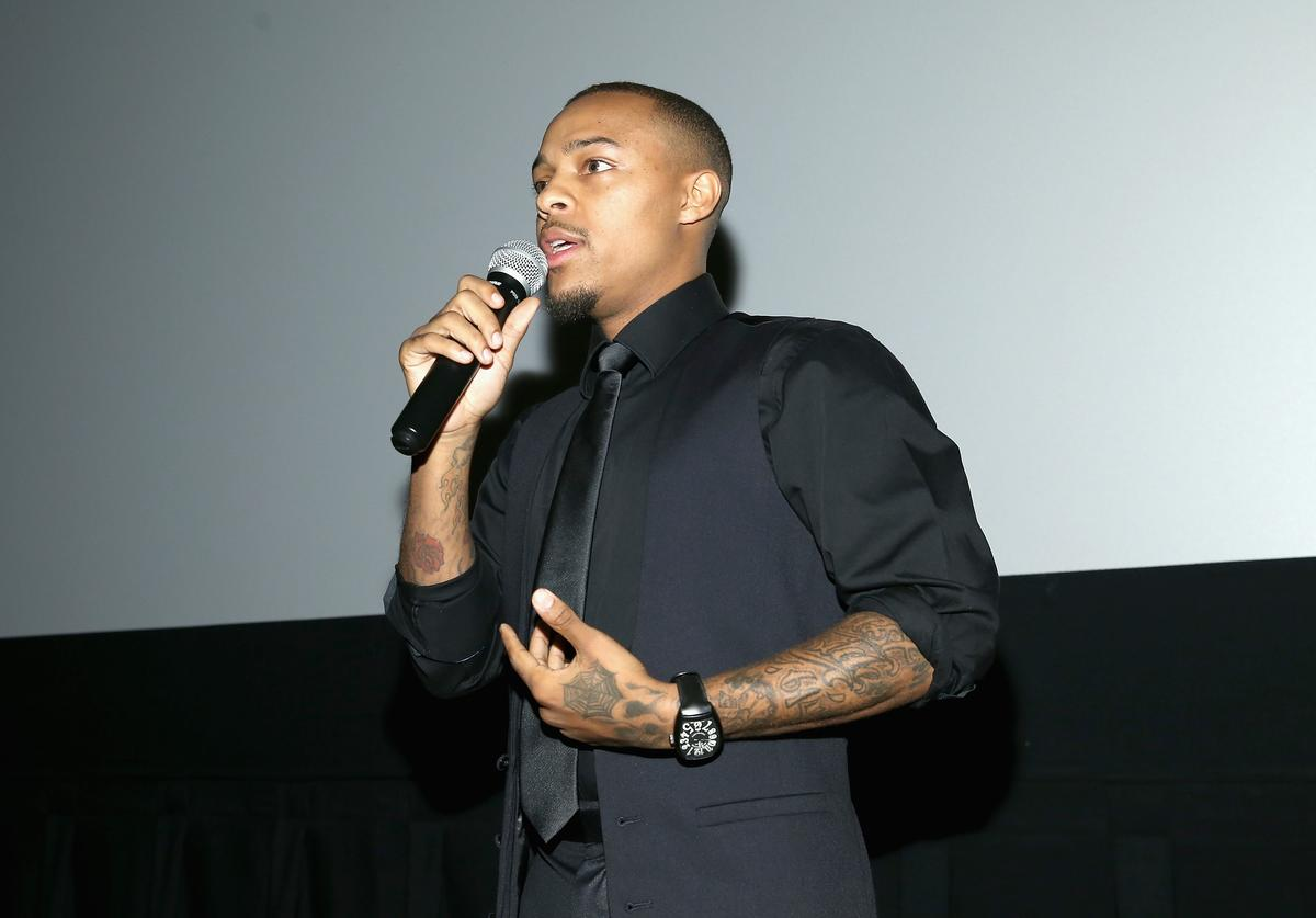 """Shad """"Bow Wow"""" Moss speaks at the WE tv's Growing Up Hip Hop Atlanta premiere screening event on May 16, 2017 in New York City"""