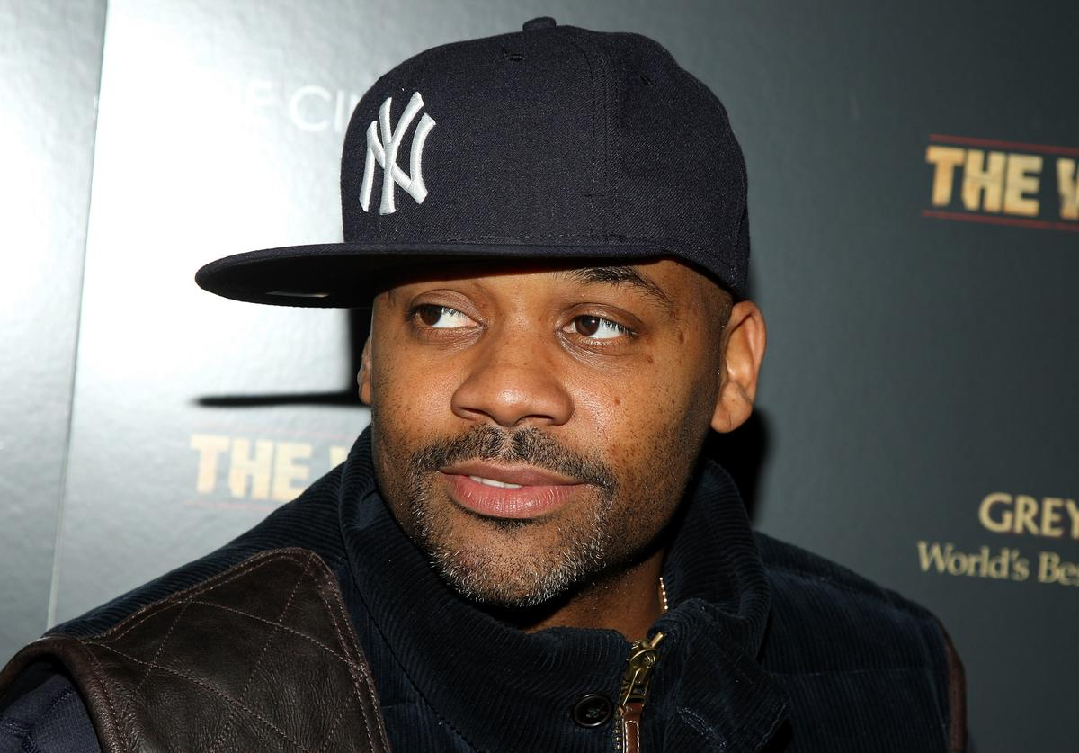 ": Record producer Damon Dash attends a special screening of ""The Wrestler"" hosted by The Cinema Society and Entertainment Weekly at the Tribeca Grand Screening Room on December 8, 2008 in New York City."