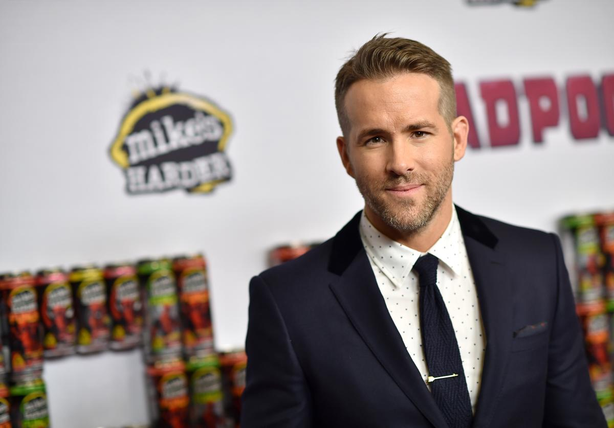 "Actor Ryan Reynolds attends the ""Deadpool"" fan event at AMC Empire Theatre on February 8, 2016 in New York City"