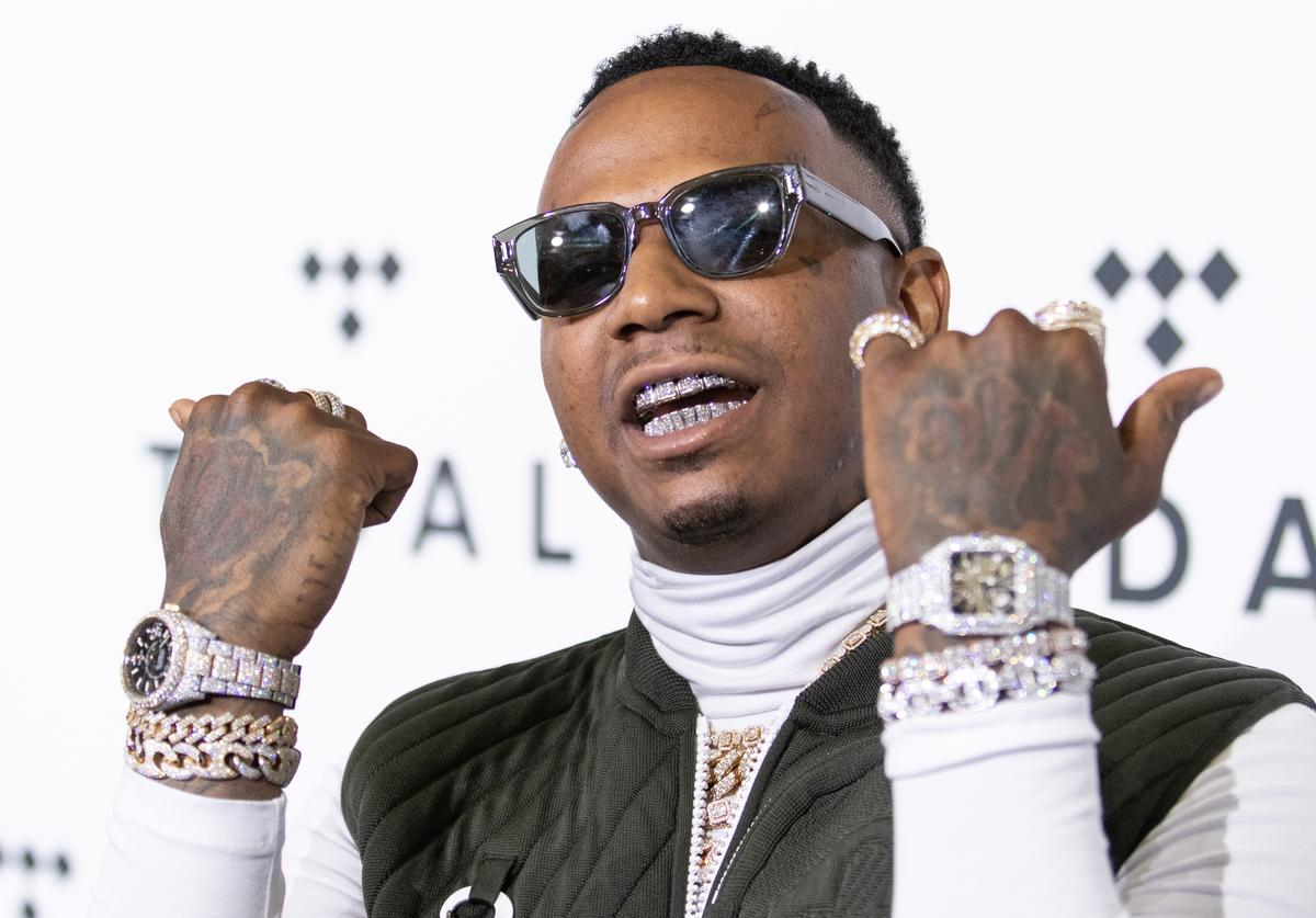 Moneybagg Yo attends Tidal X: The Rock the Vote Benefit Concert