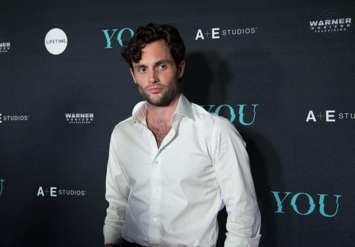 "Penn Badgley attends the ""You"" Series Premiere Celebration hosted by Lifetime on September 6, 2018 in New York City."