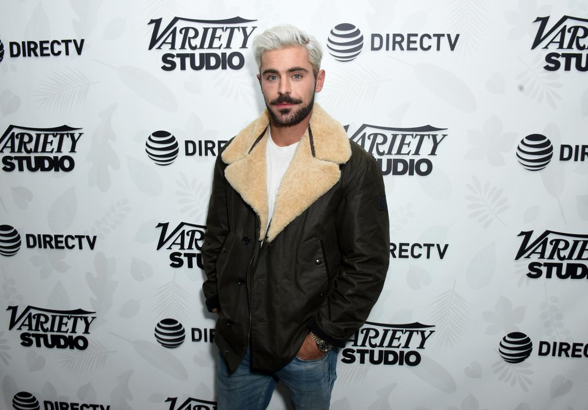 """Zac Efron at """"Extremely Wicked, Shockingly Evil and Vile"""" party"""