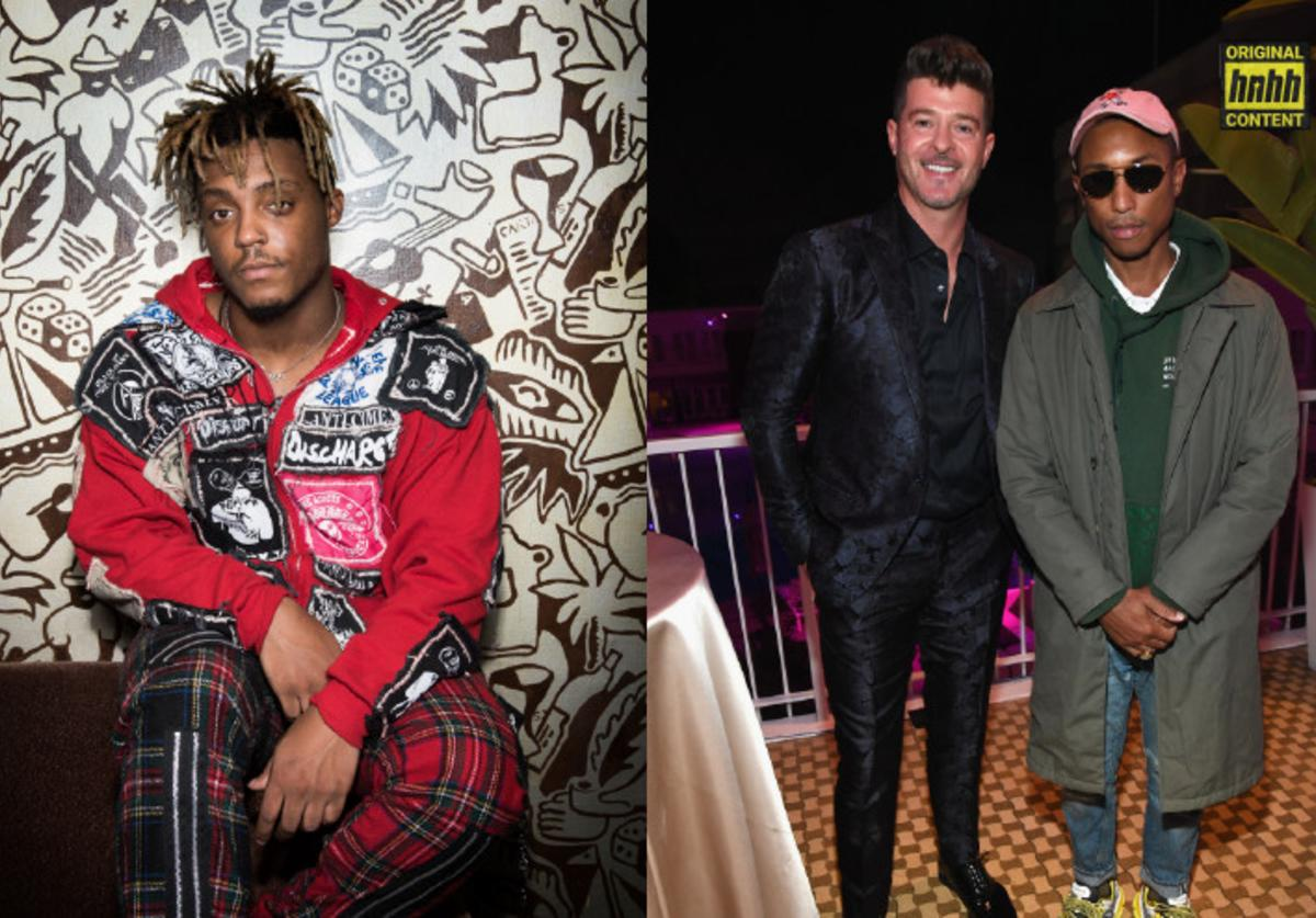 Juice WRLD and Robin Thicke lawsuits, explained