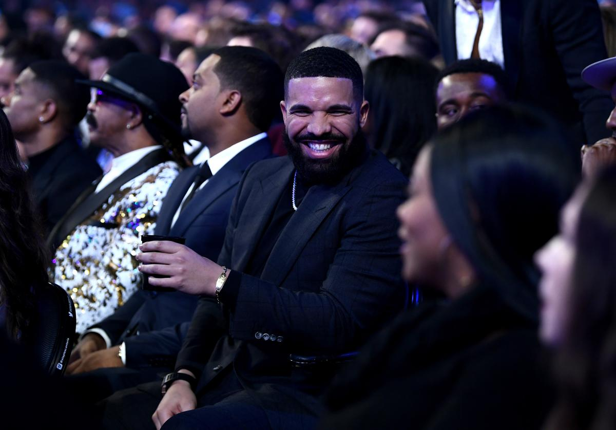 Drake during the 61st Annual GRAMMY Awards at Staples Center on February 10, 2019 in Los Angeles, California