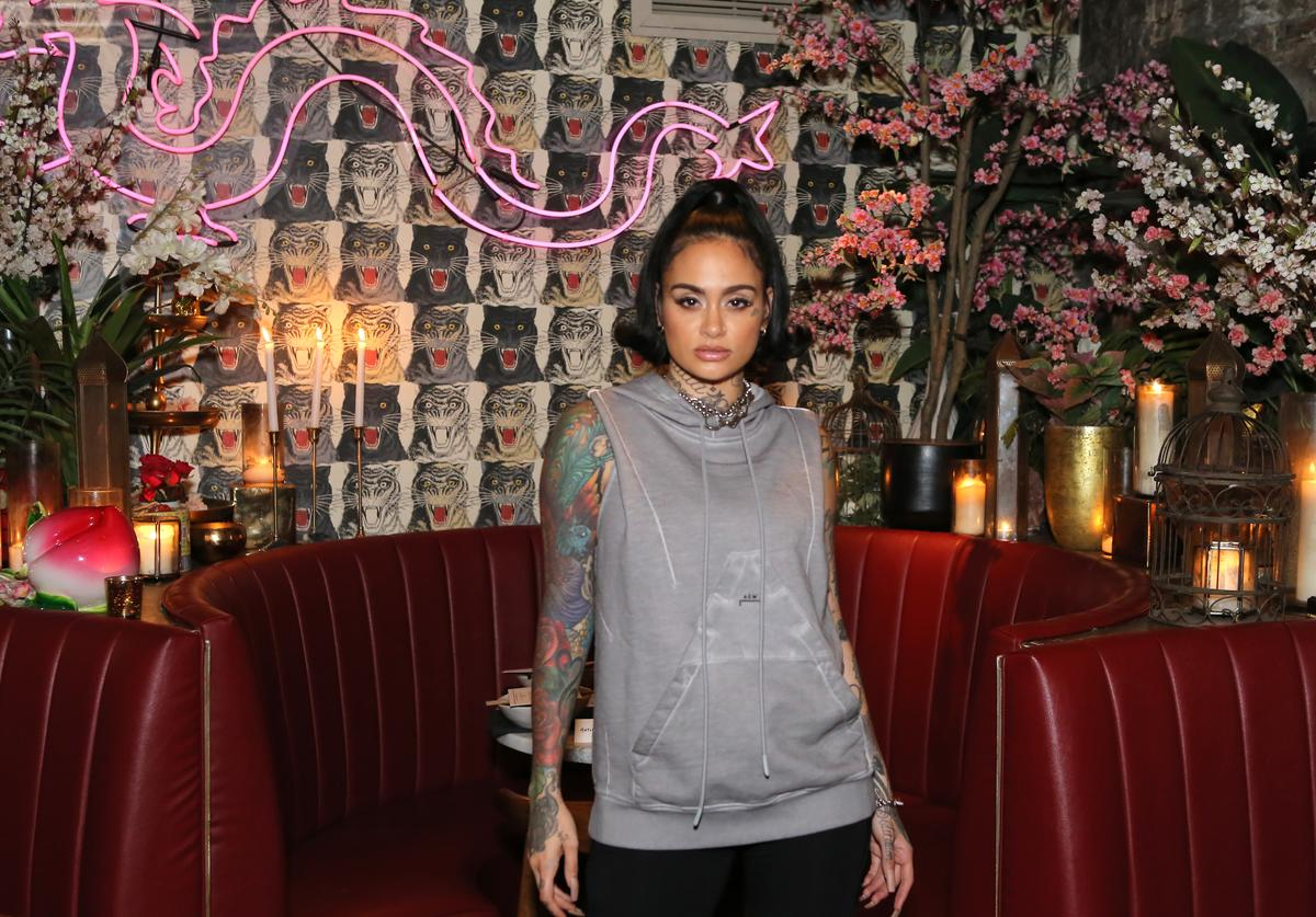 Kehlani attends Diesel x A-Cold-Wall Dinner at Chinese Tuxedo on September 09, 2019 in New York City