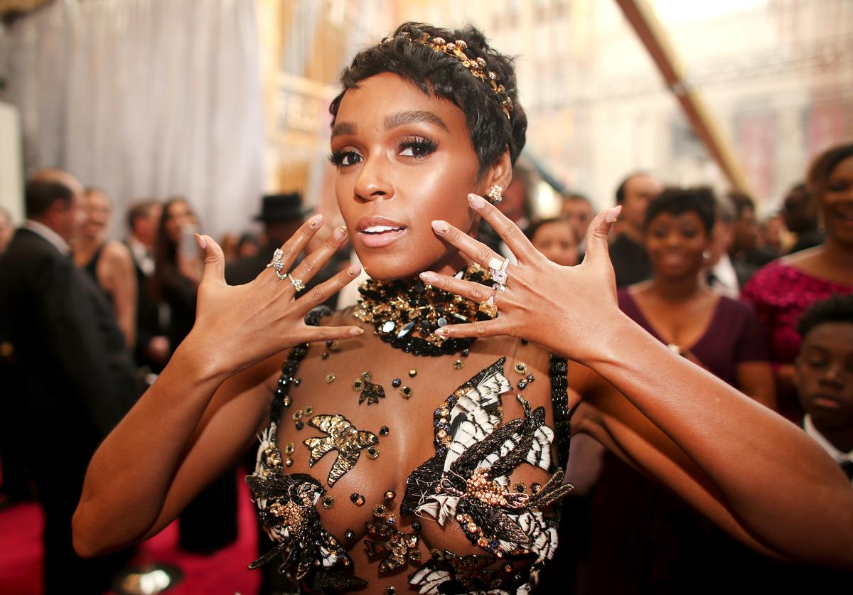 Janelle Monae attends the 89th Annual Academy Awards at Hollywood & Highland Center on February 26, 2017 in Hollywood, California