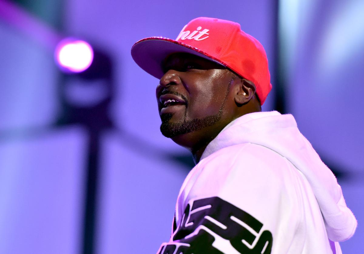 Young Buck performing onstage