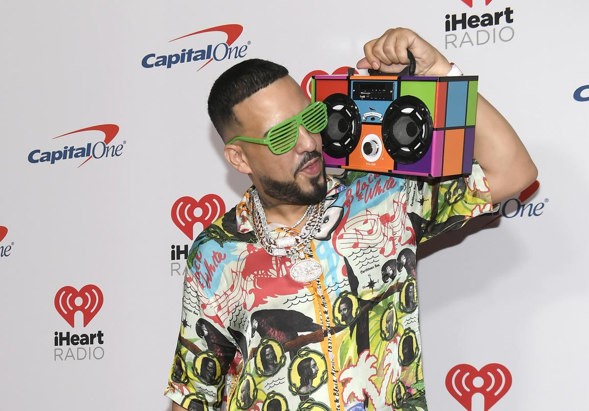 French Montana attends the 2019 iHeartRadio Music Festival and Daytime Stage at T-Mobile Arena on September 20, 2019 in Las Vegas, Nevada