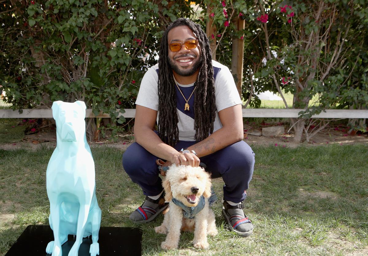 DRAM with his puppy