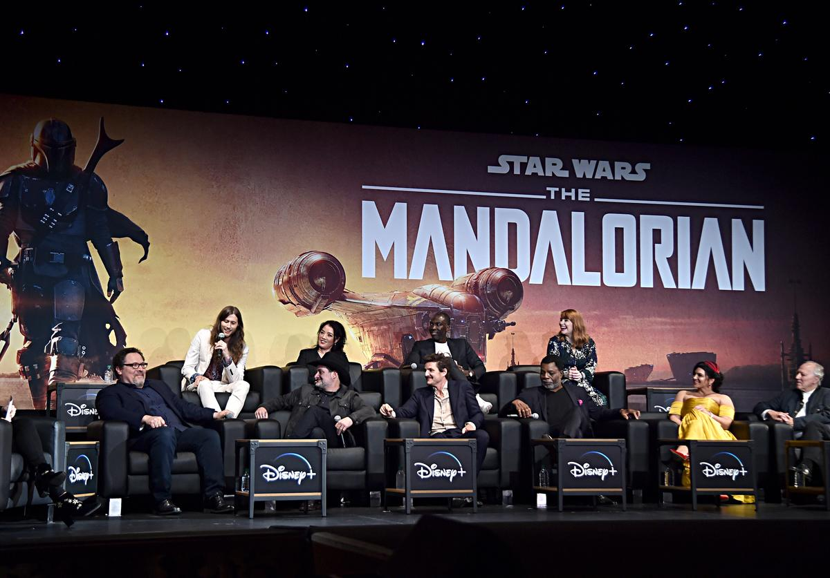 """The Mandalorian"" cast & crew"