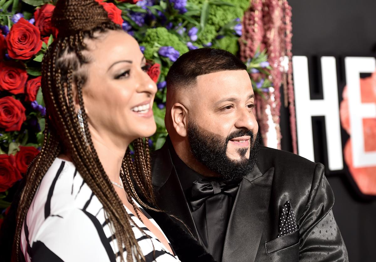 Nicole Tuck and DJ Khaled attend Rihanna's 5th Annual Diamond Ball at Cipriani Wall Street on September 12, 2019 in New York City