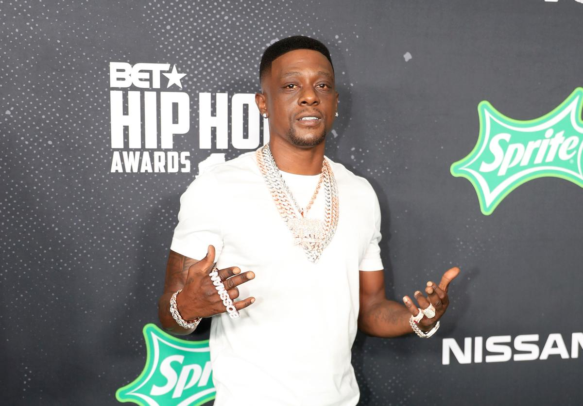 Boosie Badazz attends the BET Hip Hop Awards 2019 at Cobb Energy Center on October 05, 2019 in Atlanta, Georgia