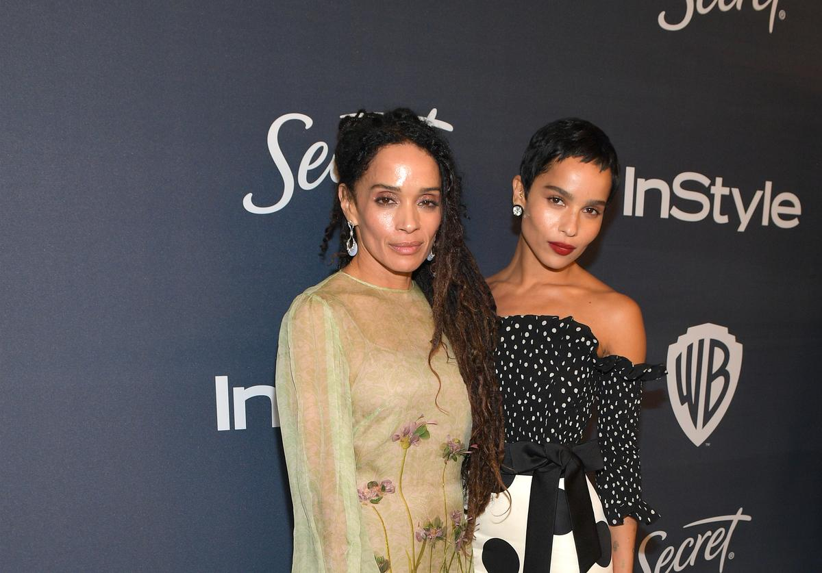 Lisa Bonet and Zoe Kravitz attend InStyle and Warner Bros. 77th Annual Golden Globe Awards Post-Party