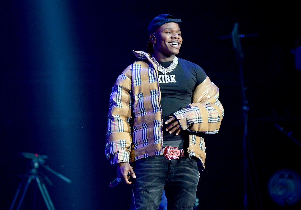 DaBaby performs onstage during the Power 105.1'S Powerhouse 2019 presented by AT&T at Prudential Center on October 26, 2019 in Newark, New Jersey.