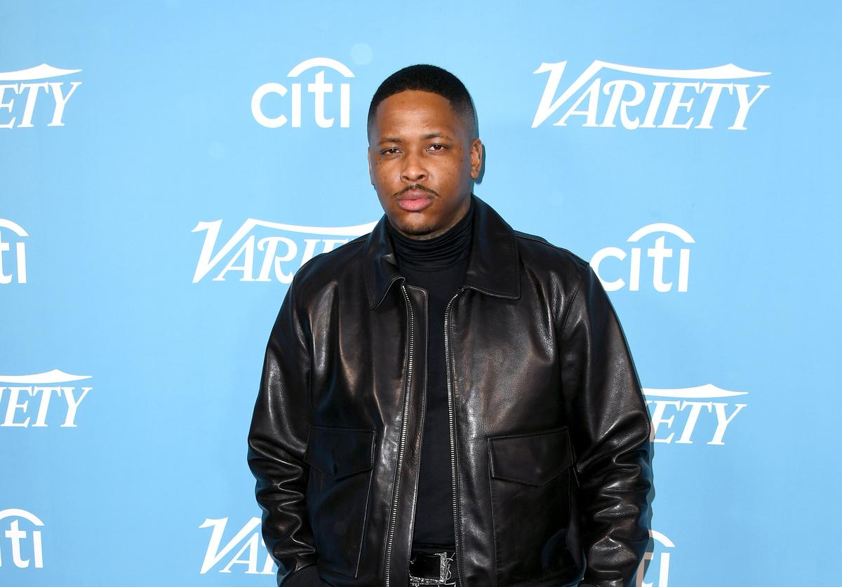 YG attends the 2019 Variety's Hitmakers Brunch at Soho House on December 07, 2019 in West Hollywood, California