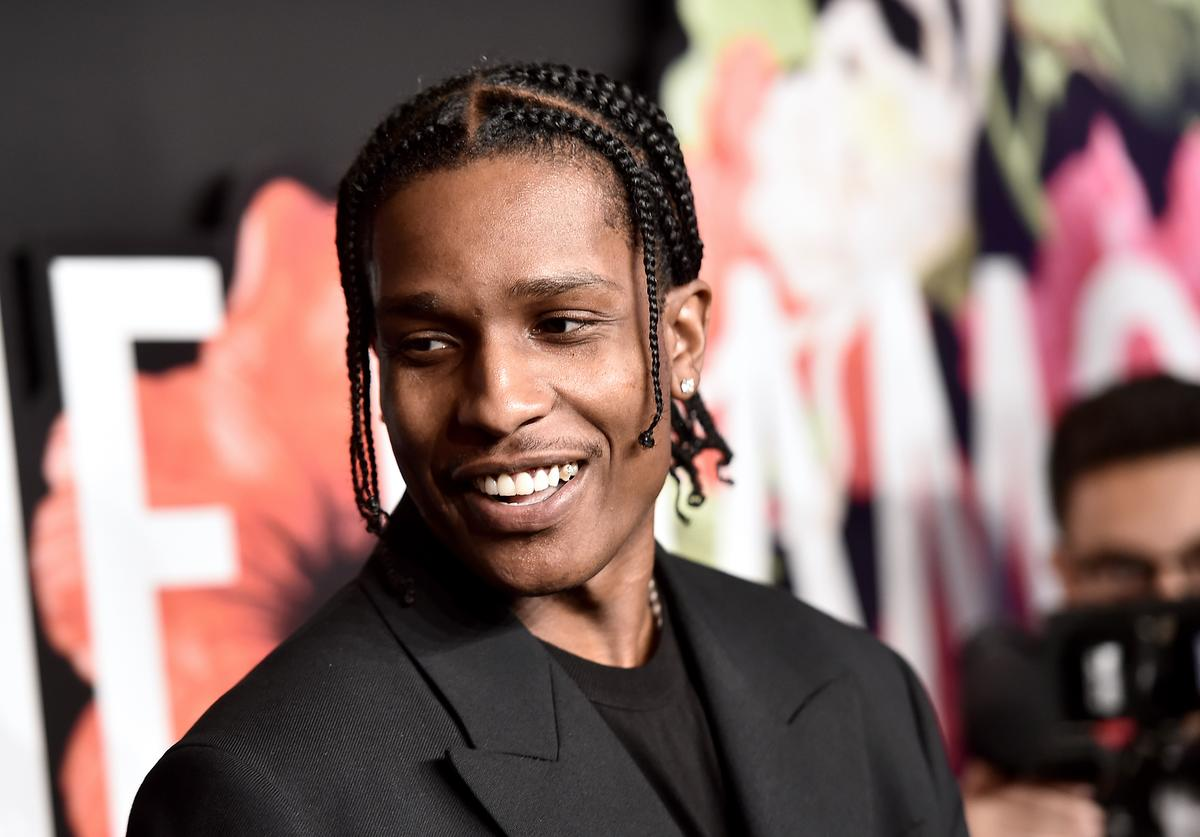 A$AP Rocky at Rihanna's 5th Annual Diamond Ball