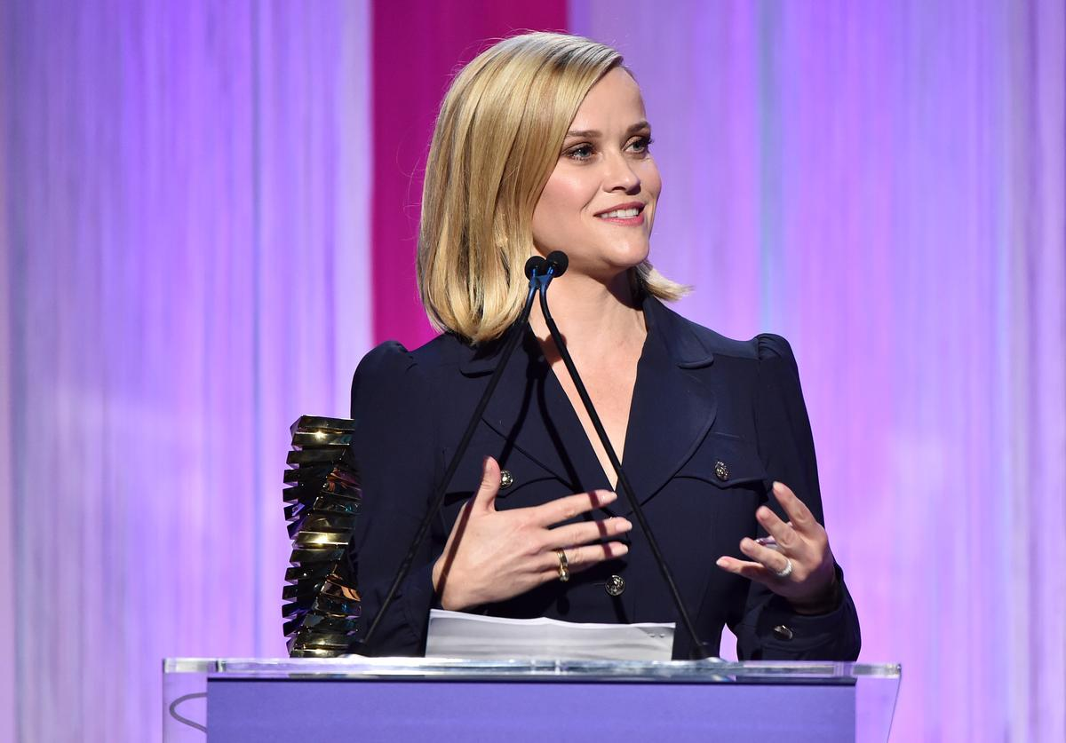 Reese Witherspoon at The Hollywood Reporter's Power 100 Women in Entertainment (Dec. 2019)