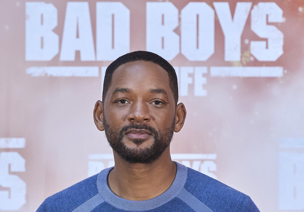 Will Smith at the 'Bad Boys For Life' photocall in Madrid, Spain