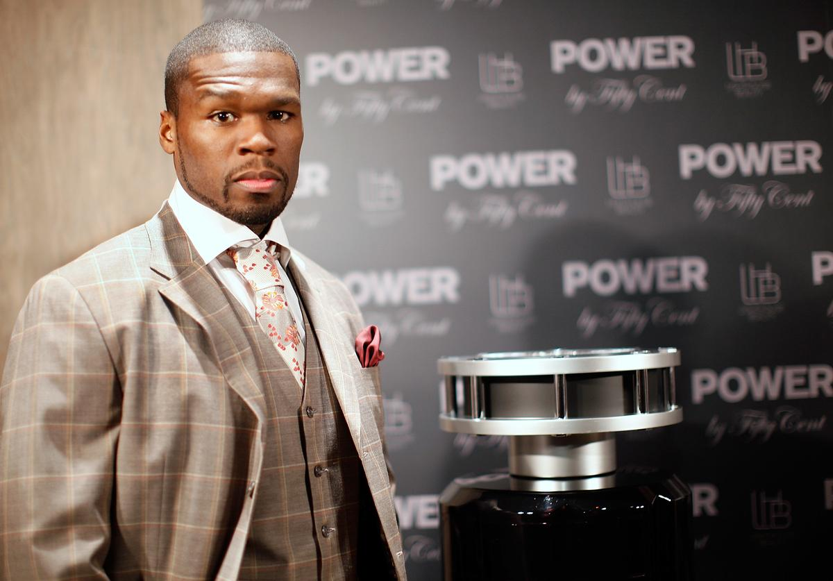 "Curtis Jackson attends the debut of the new ""Power By 50 Cent"" fragrance at Avenue on June 23, 2009 in New York City"