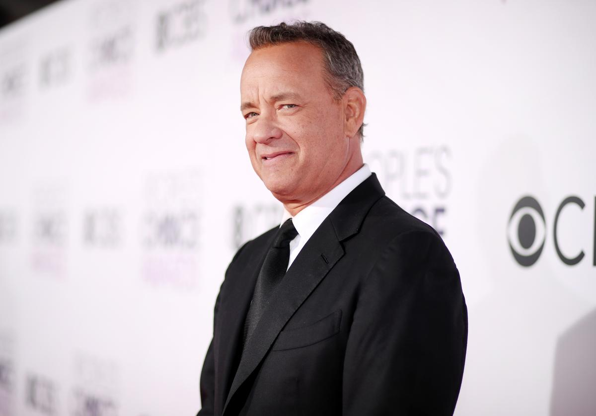 Tom Hanks attends the People's Choice Awards 2017