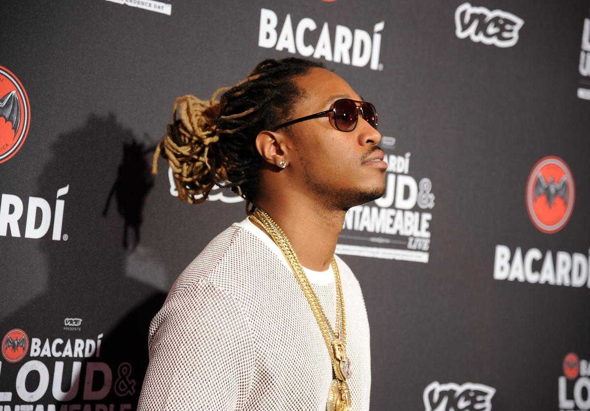 Future attends Cuban Independence Day celebration hosted by VICE and Bacardi at Weylin B. Seymour's on May 20, 2014 in New York City