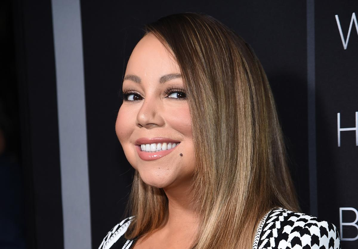 "Mariah Carey at the premiere of Tyler Perry's ""A Fall From Grace"" in NYC"